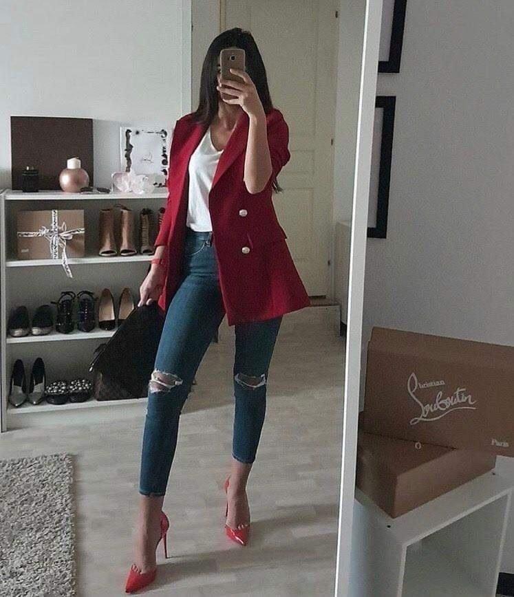 Outfits casuales con blazer para mujeres de 40 o más
