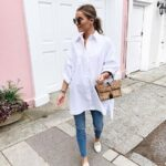Camisas blancas oversize