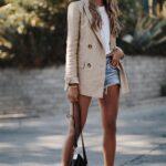 Formas de combinar un blazer con short para verte elegante