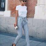 Considera vestir con prendas con rayas verticales