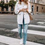 Combina jeans con tus tenis favoritos